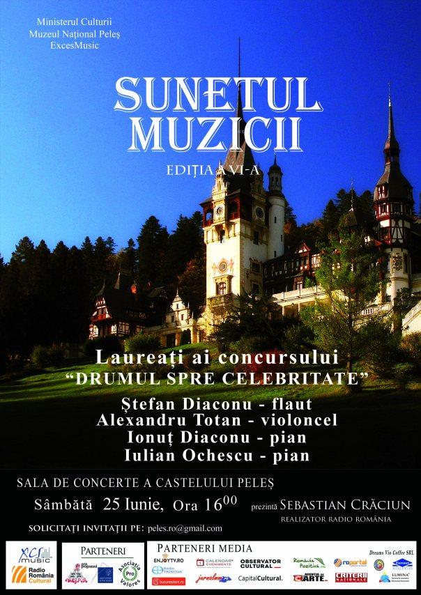 Afis Sunetul muzicii 25 iunie